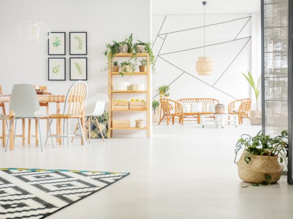 Cozy apartment interior